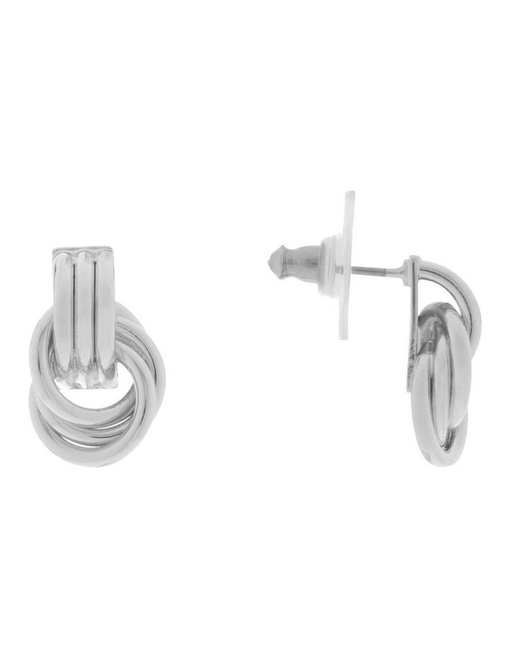 Mini Knot Stud Earrings image 2