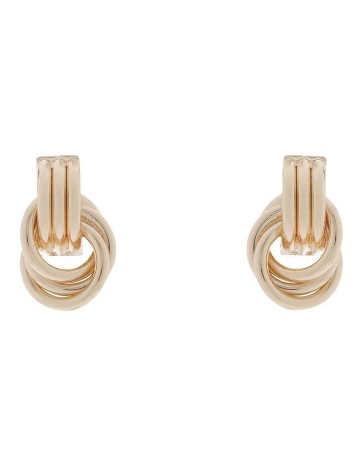 Mini Knot Stud Earrings image 1