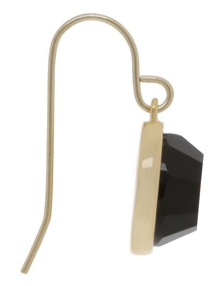 Semi Precious Drop Hook Earrings image 2