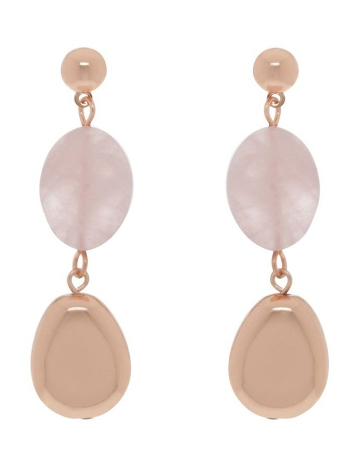 Semi Precious Statement Earrings image 1
