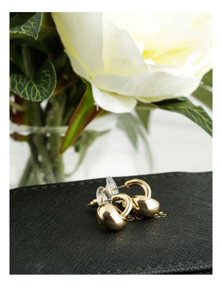 Molten Metal Mini Drop Earrings image 3