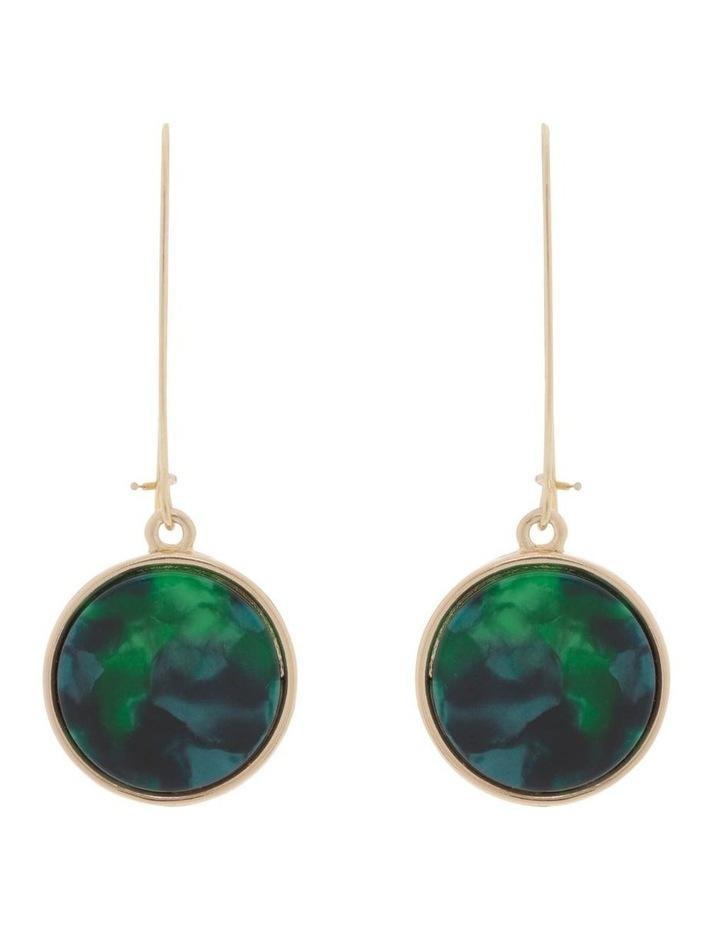 Marble Look Earrings image 1