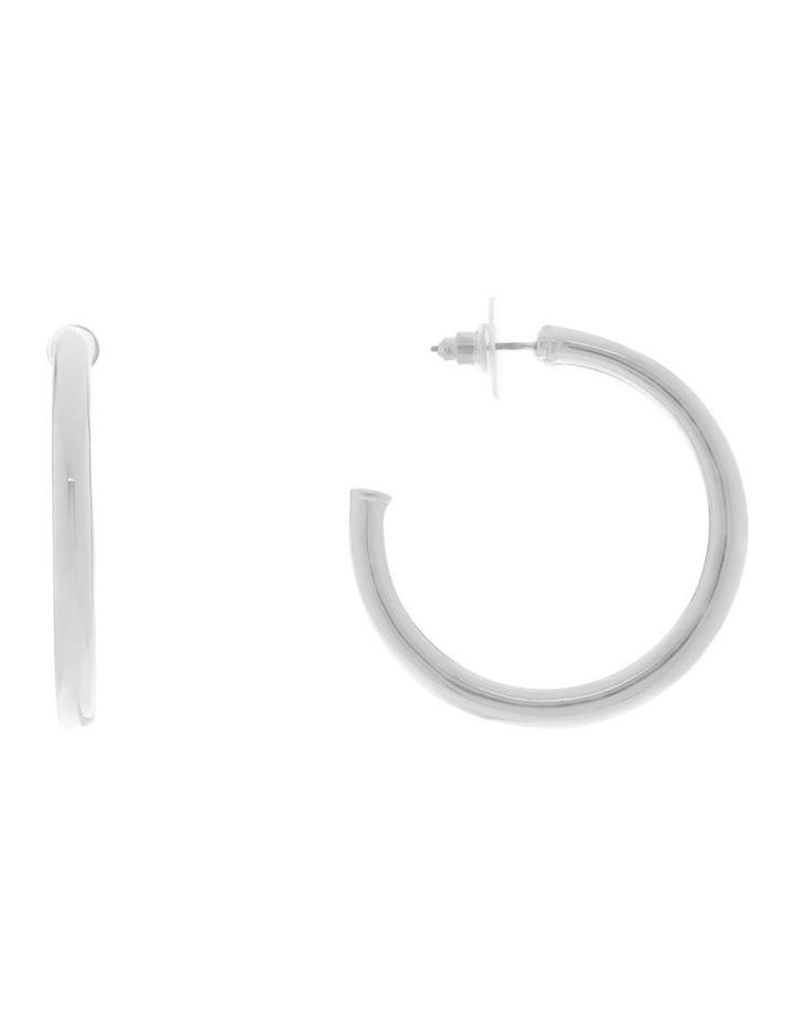 Large Classic Hoop Earrings image 1