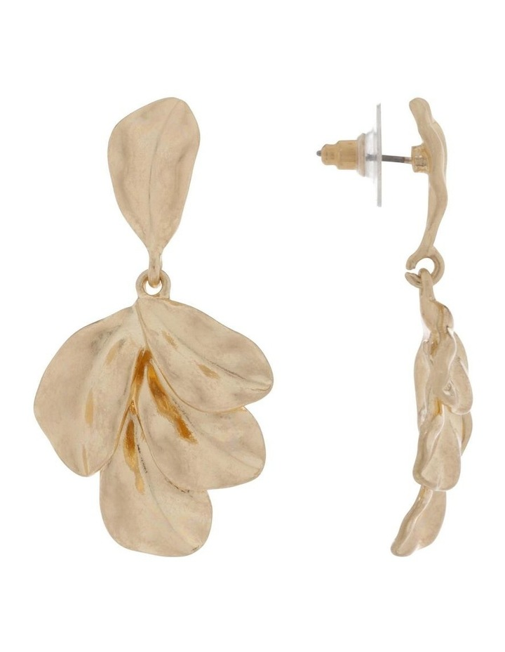 Botanica Leaf Earring image 2