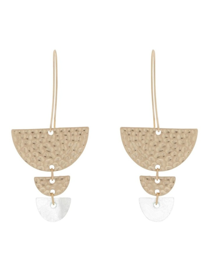 Semicircle Tiered Earring image 1