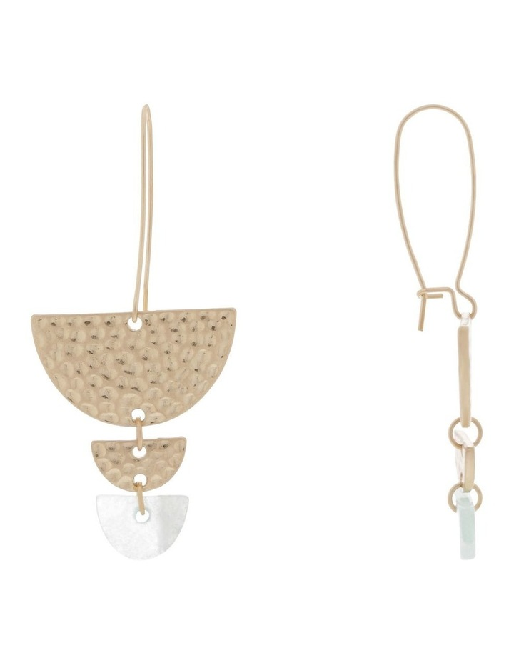 Semicircle Tiered Earring image 2