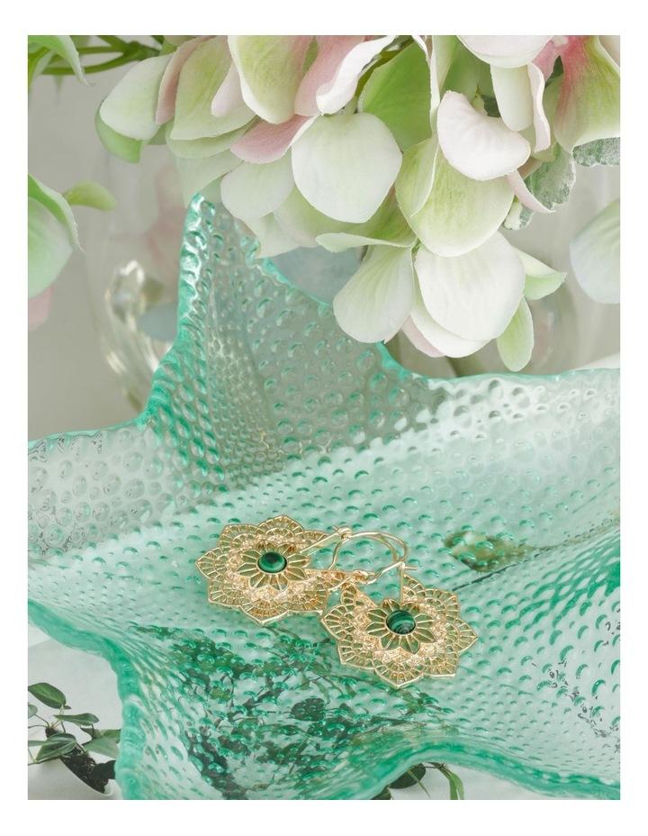 Flower Detail Earring image 3