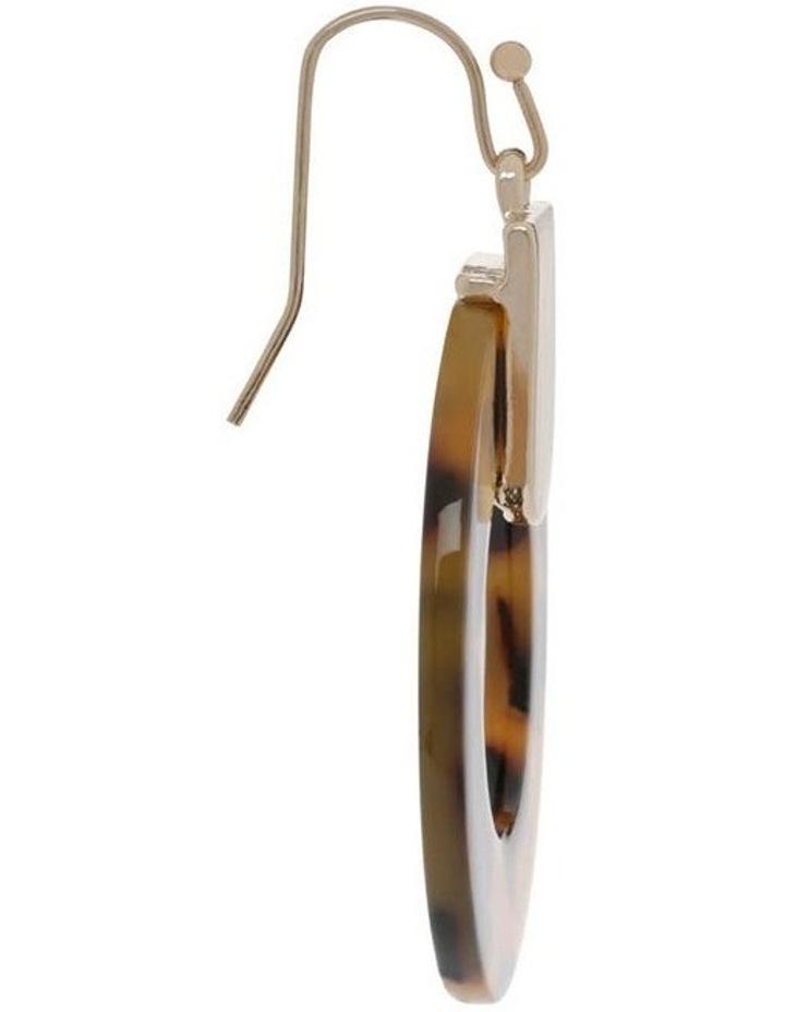 Acetate Circle Earring image 2