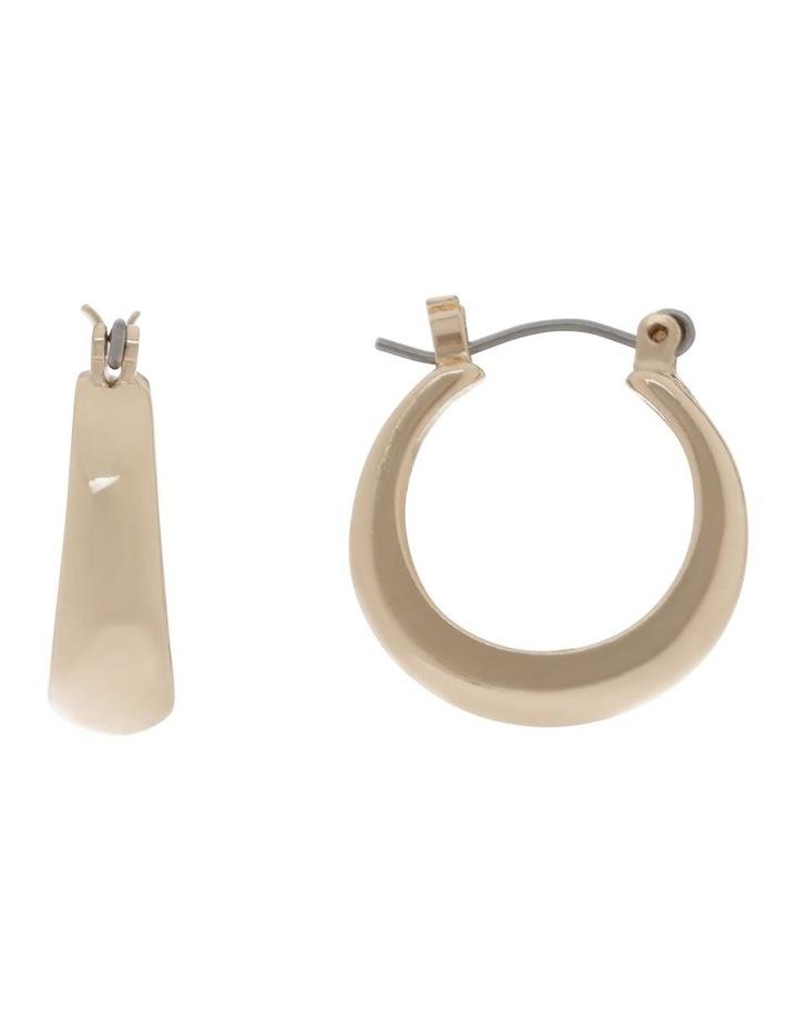 Mini Chunky Hoop Earrings image 1