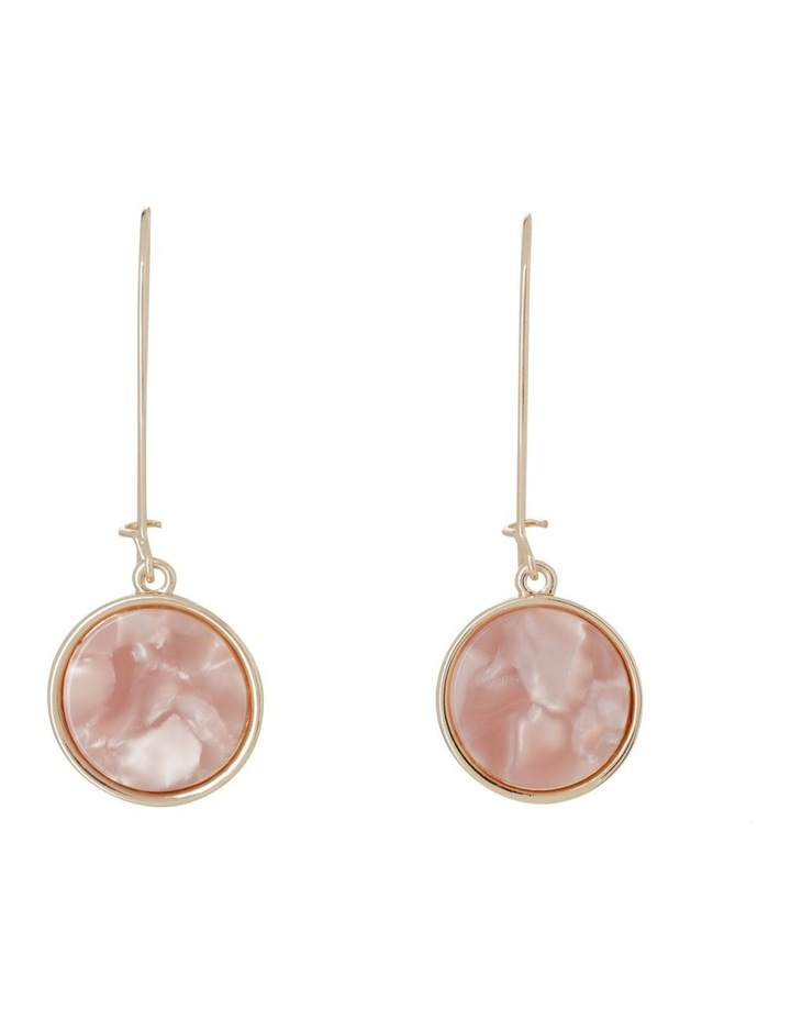 Marble Look Earrings image 1