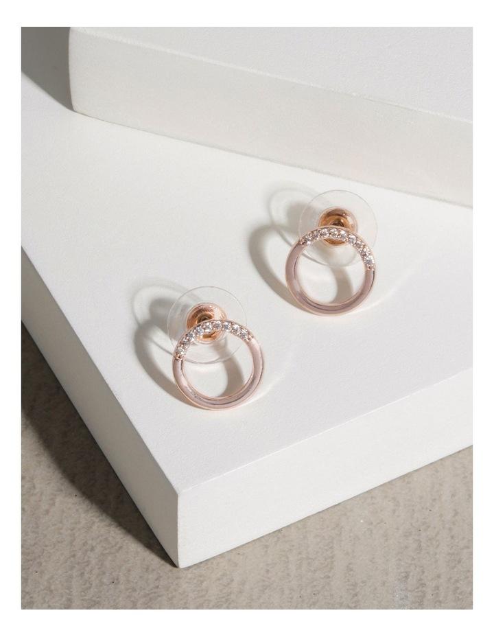 Circle Drop Earrings image 4