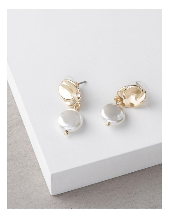 Organic Pearl Drop Earrings image 3