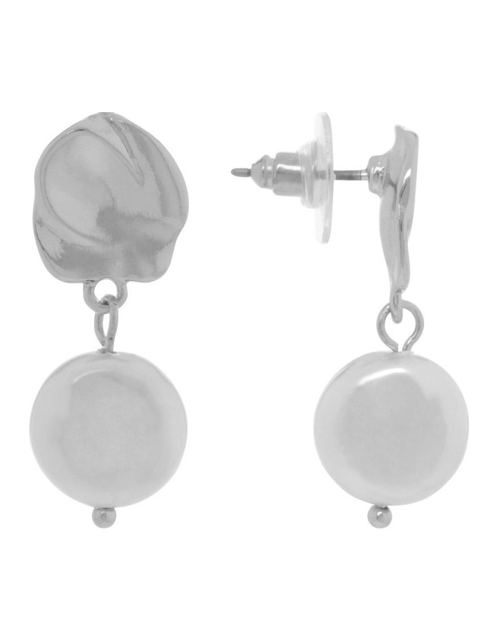 Organic Pearl Drop Earrings image 2