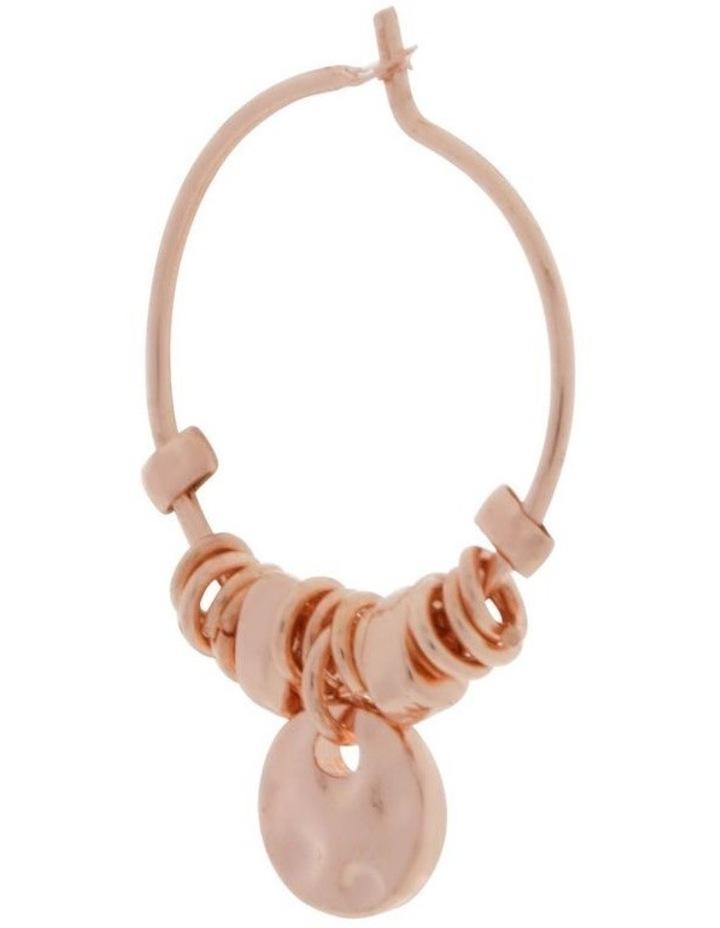 Mini Charm Hoop Earrings image 2