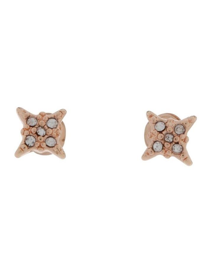 Pave Star Stud Earrings image 1