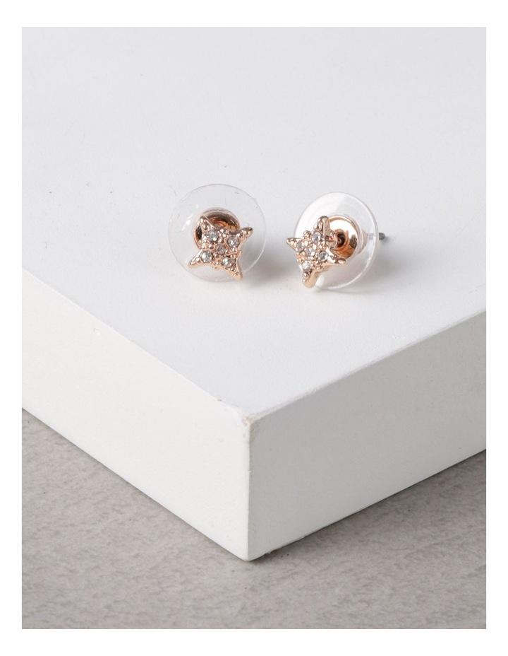 Pave Star Stud Earrings image 3