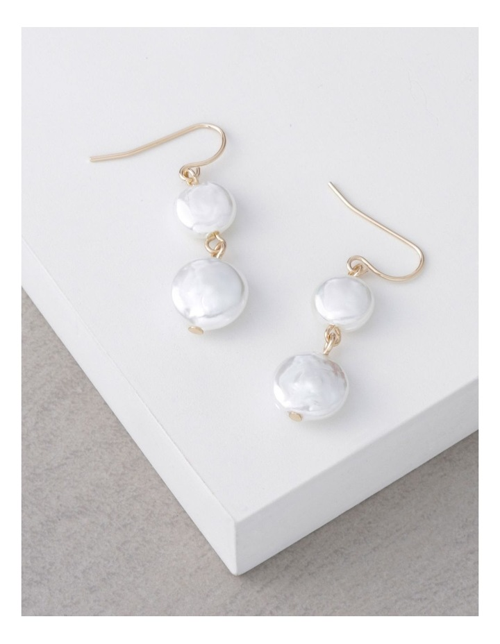 Double Drop Freshwater Pearl Earring image 3