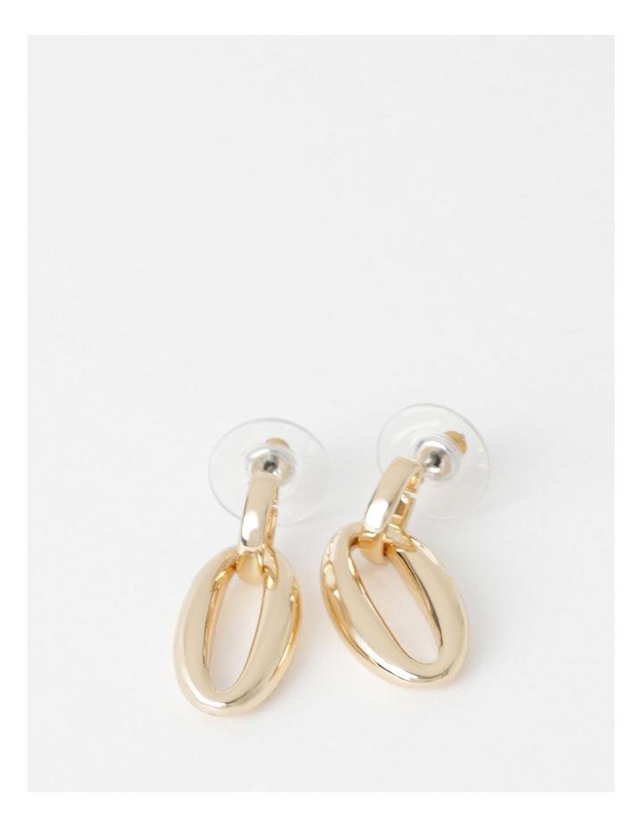 Oval Drop Earrings image 1