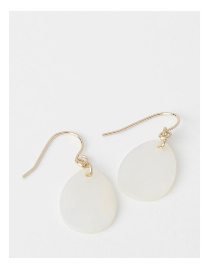 Mother Of Pearl Drop Earrings image 1