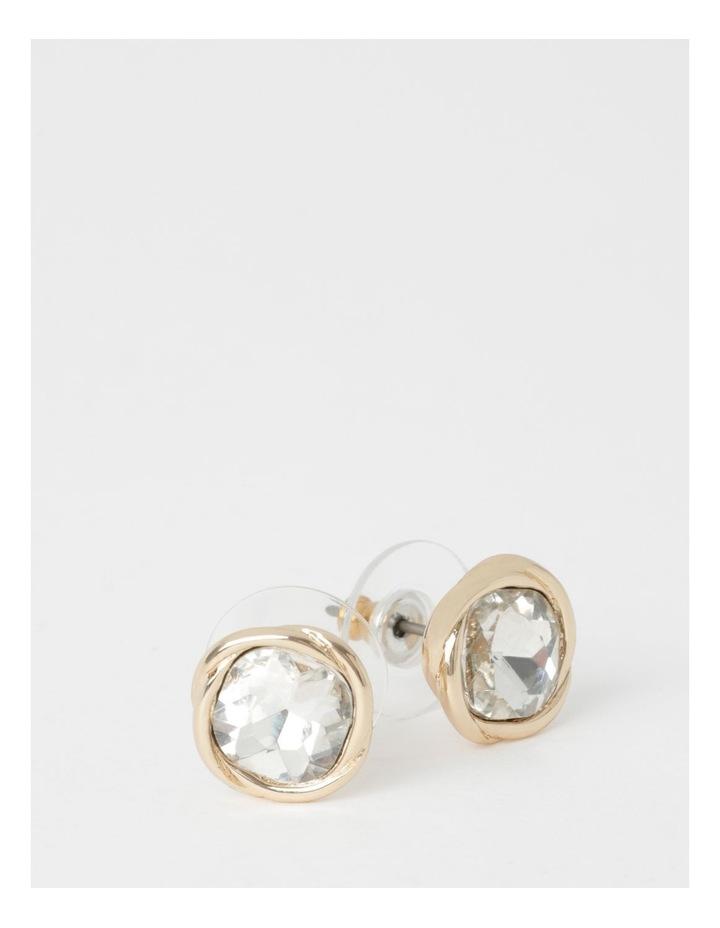 Elevated Crystal Stud Earring image 2