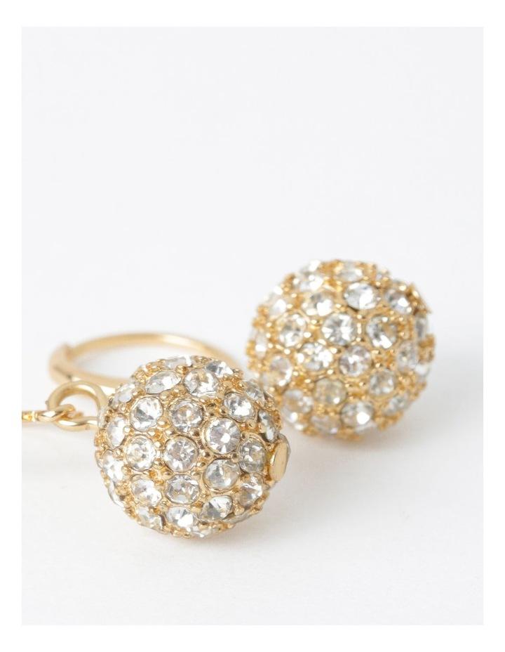 Mini Crystal Ball Drop Earring image 2
