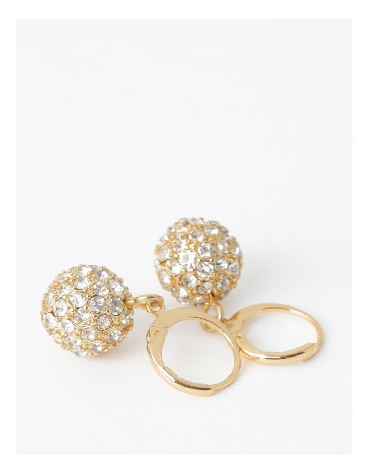 Mini Crystal Ball Drop Earring image 3