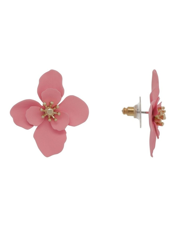 Coated Flower Stud Earrings image 2
