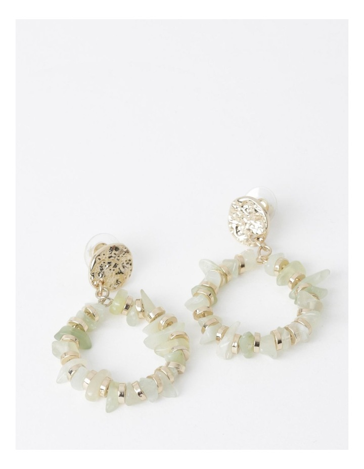 Stone Circle Earring image 1