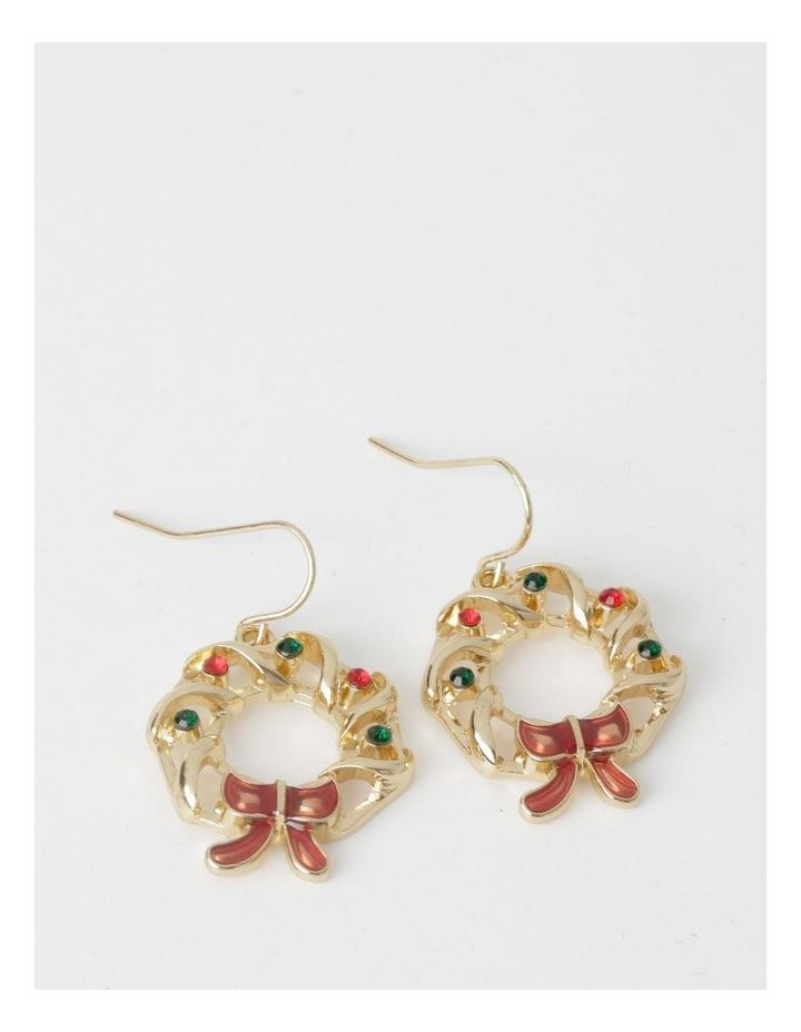 Wreath Drop Earrings image 1