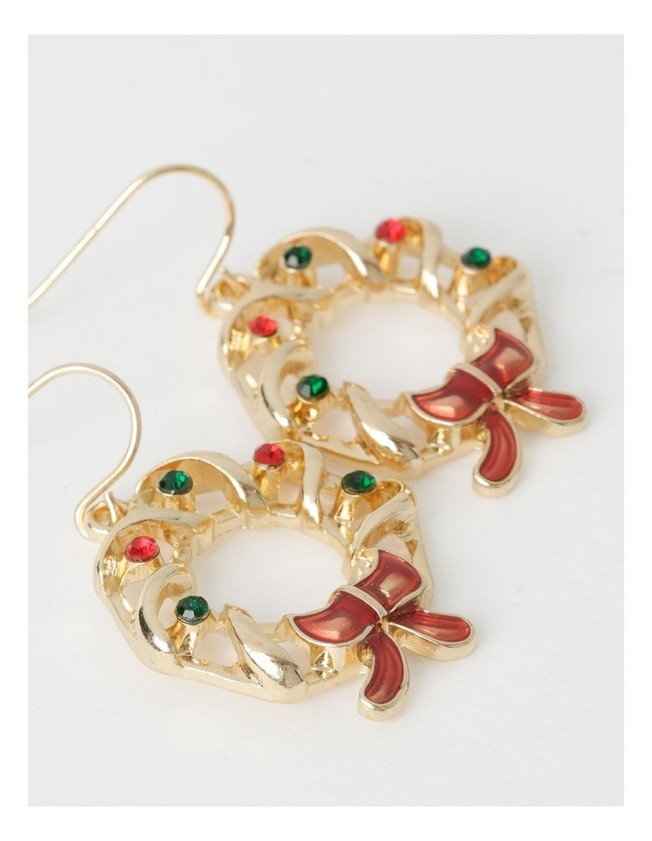 Wreath Drop Earrings image 2