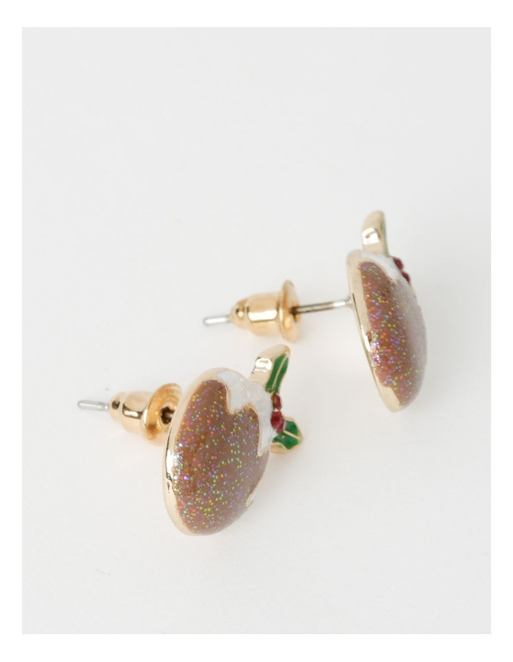 Christmas Pudding Stud Earrings image 2