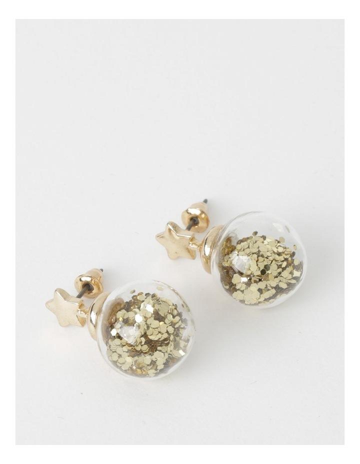 Gold Star & Glitter Ball image 1