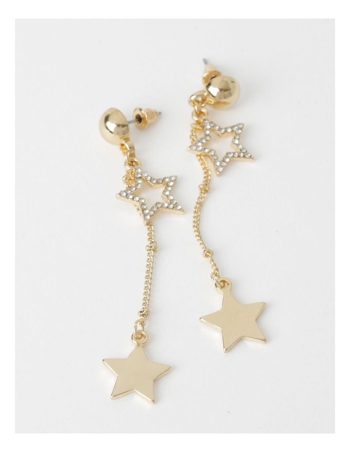 Diamant & Star Dangle Earrings image 1