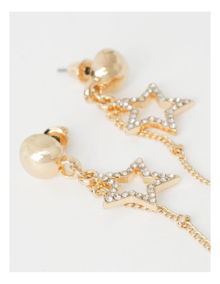 Diamant & Star Dangle Earrings image 2