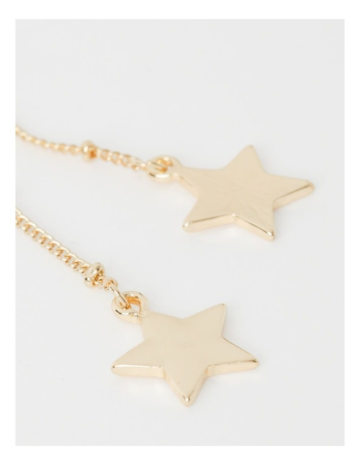 Diamant & Star Dangle Earrings image 3