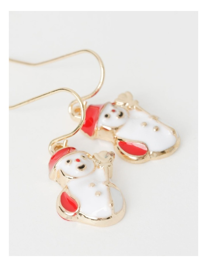 3 Pack Assorted Christmas Drop Earrings image 3