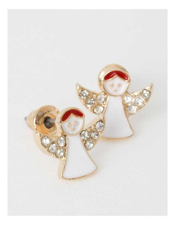 3 Pack Assorted Christmas Stud Earrings image 2