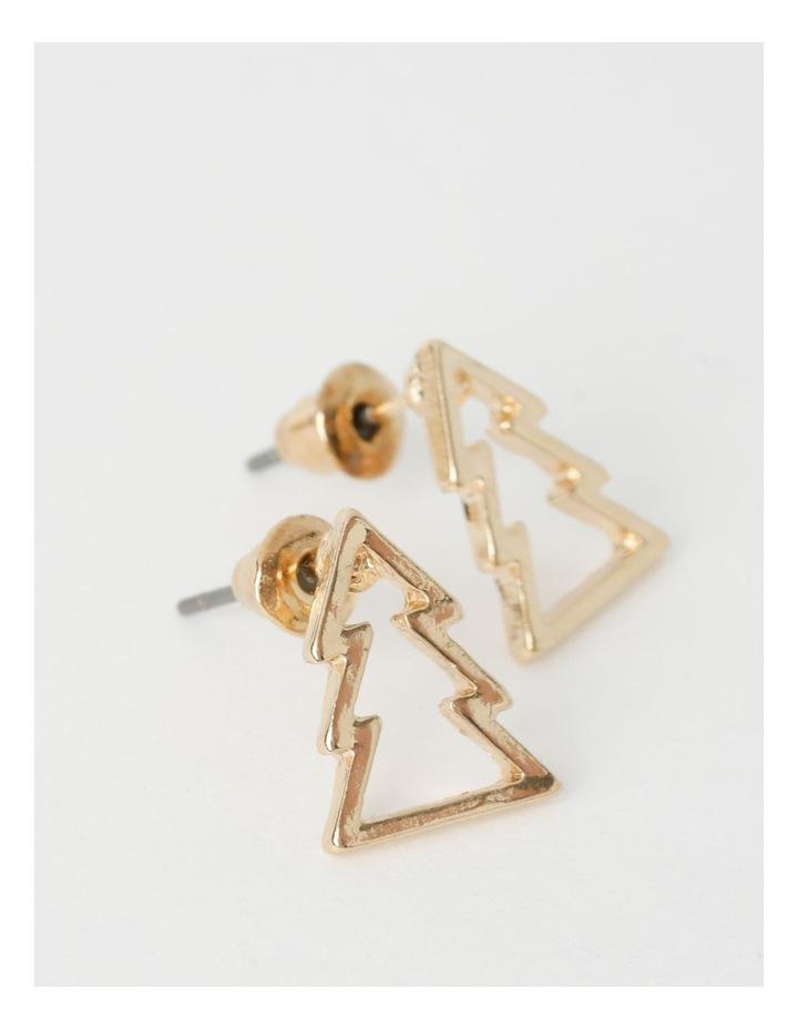 3 Pack Assorted Christmas Stud Earrings image 3