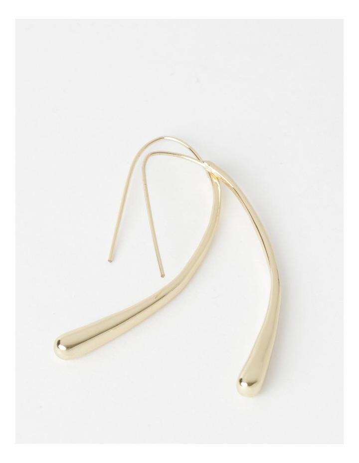 Slim Bar Drop Earrings image 1