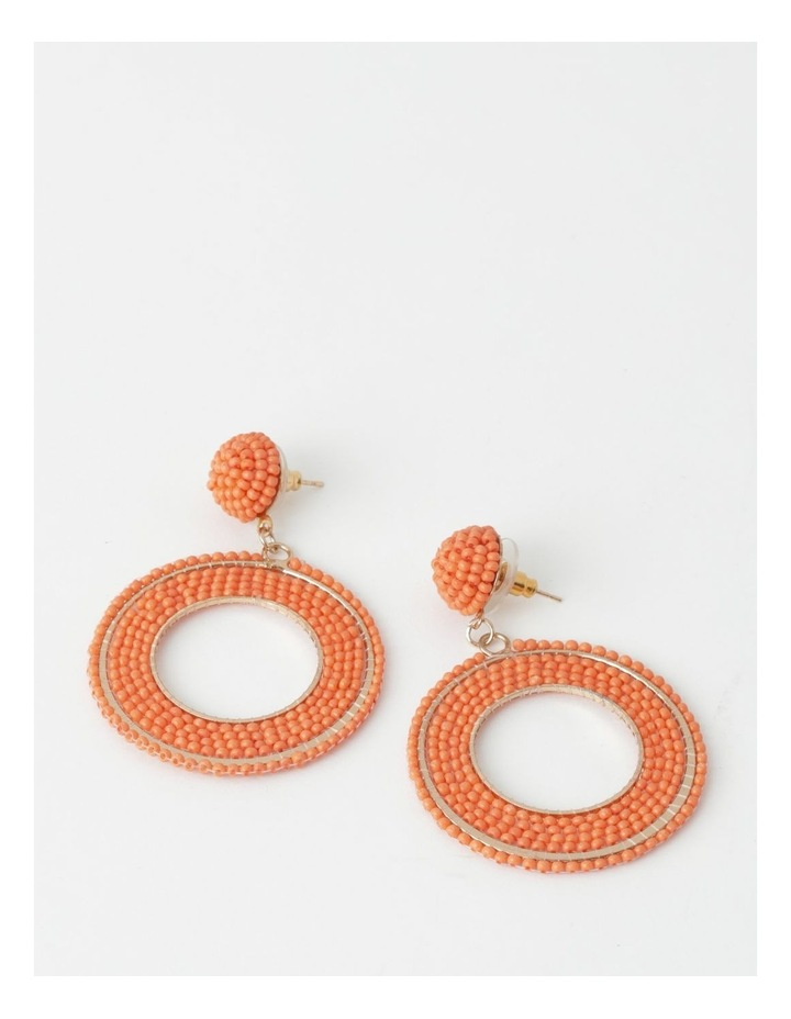 Statement Seed Bead Earring image 1