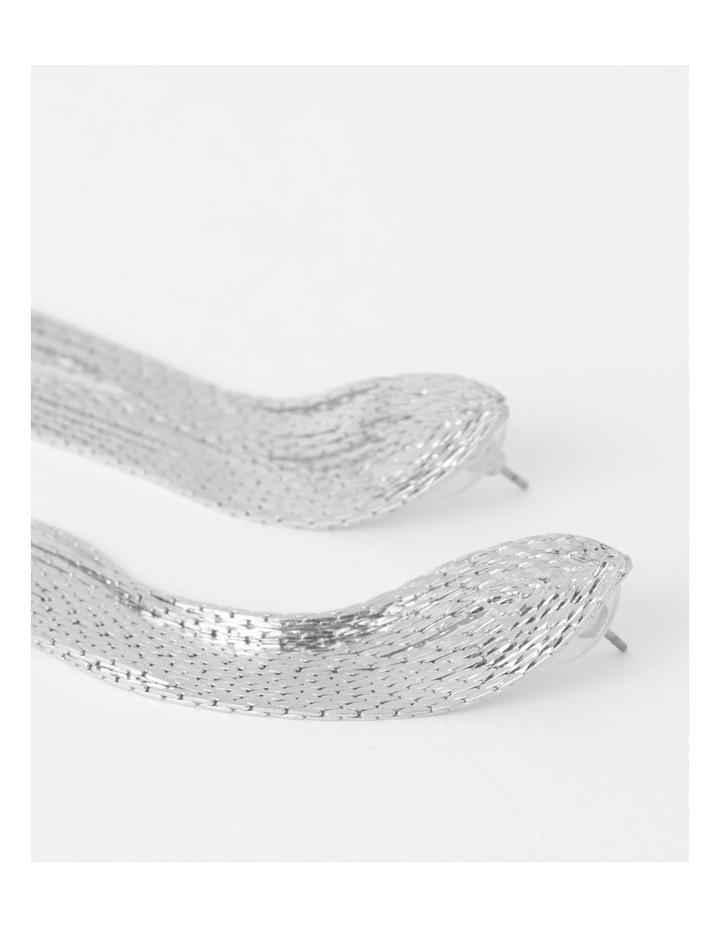 Glam Slinky Chain Earring image 2