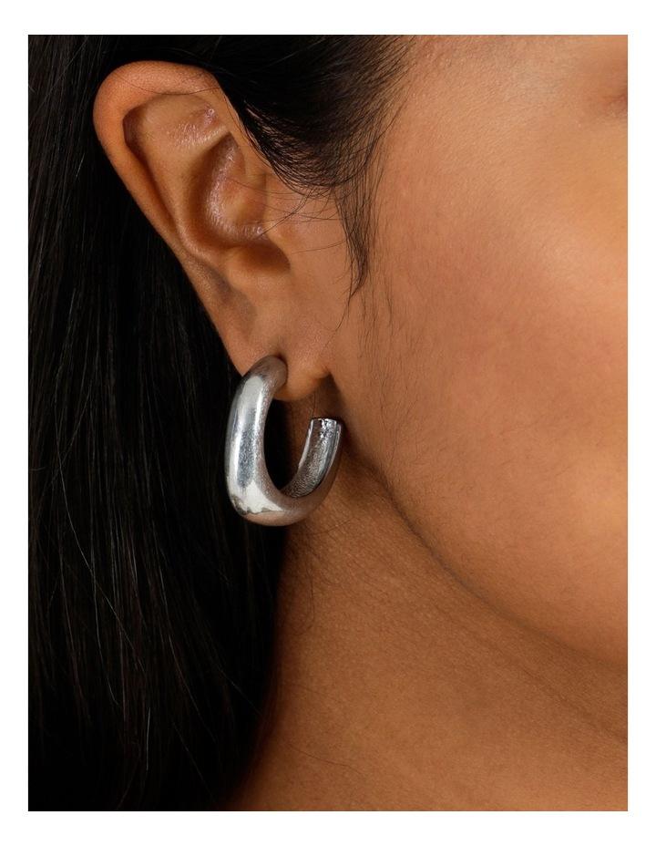 Molten Statement Hoop Earring image 5