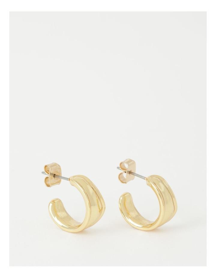 Molten Huggie Earring image 1