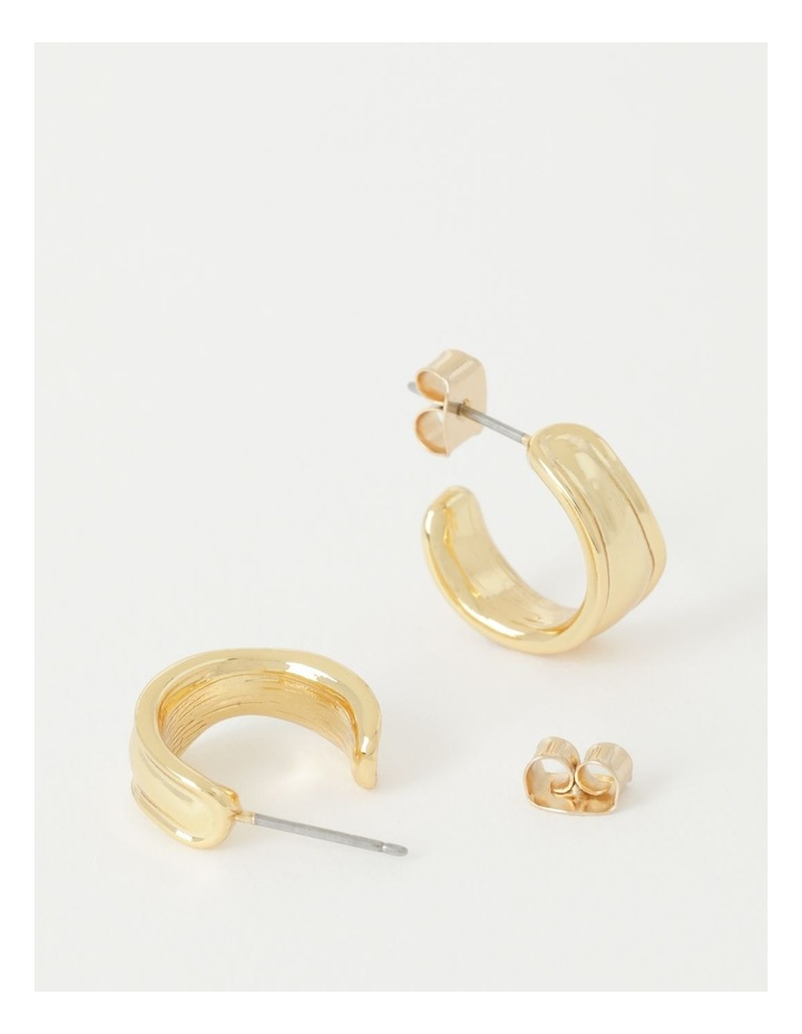 Molten Huggie Earring image 2