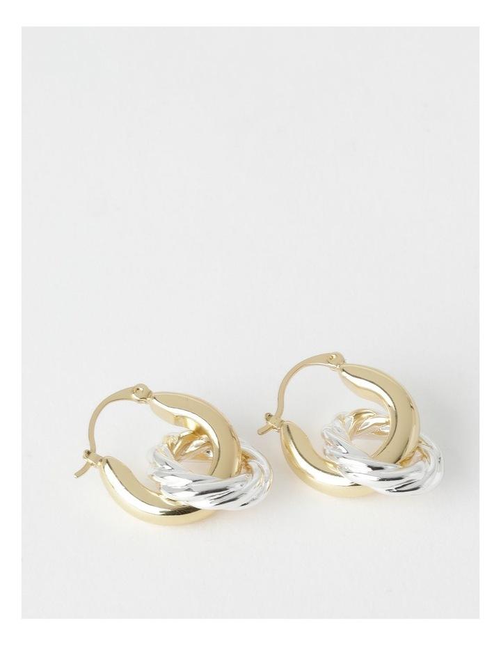 Two Way Hoops Earring image 1