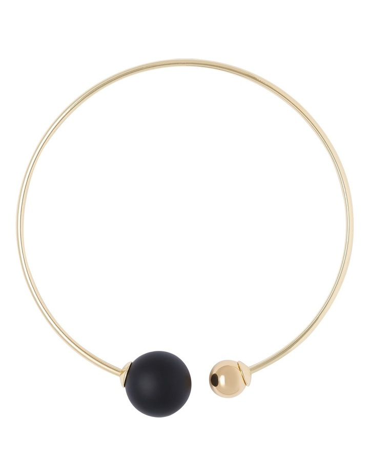 Round Double Pearl Collar image 1