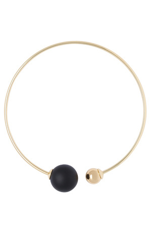 Wayne Cooper - Round Double Pearl Collar