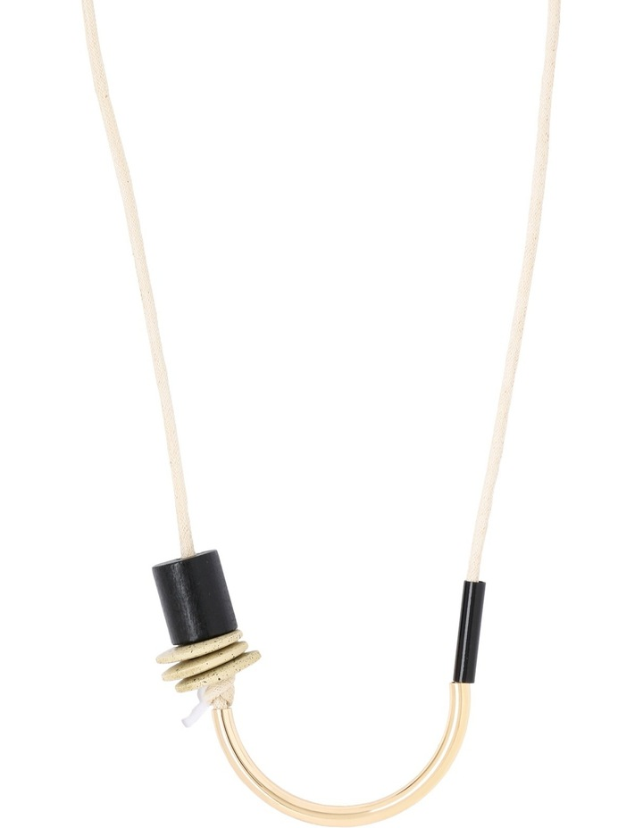 A67371BA Tassel Festival Tubular and Rope Necklace image 1