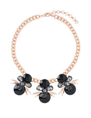 Wayne Cooper - WCJHW17NL124 Spiked Chain Jewelled Statement Necklace