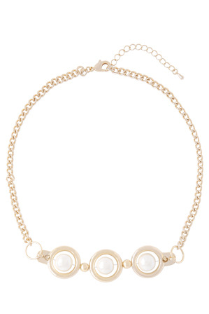 Wayne Cooper - WCGES18NL62 Triple Ball Metal Chain Necklace